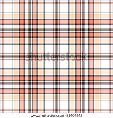 White, pink and black checkered seamless pattern (EPS 10 vector) - stock vector