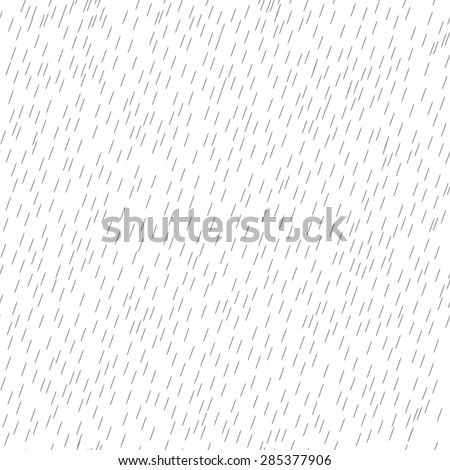 White seamless pattern. texture of rain. vector background