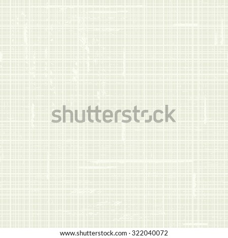 White Seamless texture of canvas. Vector illustration - stock vector