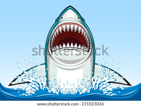 Shark vector stock photos illustrations and vector art