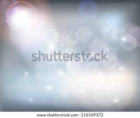 White shine. Vector illustration. - stock vector