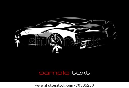 Auto Silhouette Stock Photos Royalty Free Images Vectors