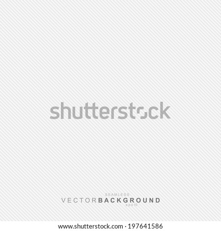 White texture, seamless striped pattern. Vector background - stock vector