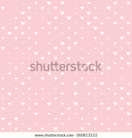 White Valentine heart background. Valentine's Day Wallpaper. Pink rose quartz backdrop. - stock vector