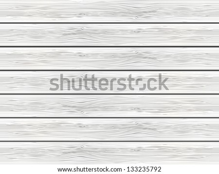 White wooden background - vector illustration - stock vector