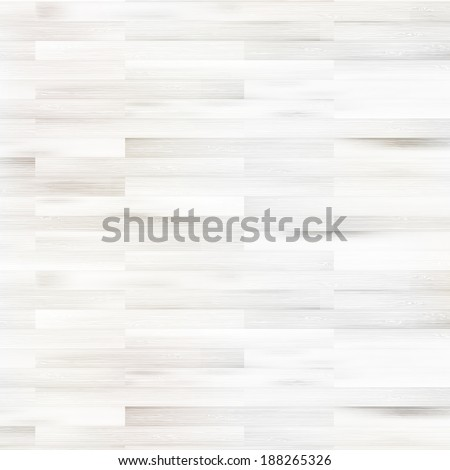 White wooden parquet flooring texture. + EPS10 vector file - stock vector