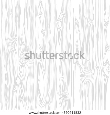 White wooden vector seamless vertical texture. Vintage retro backround. Editable pattern in swatches. Clipping paths included. - stock vector