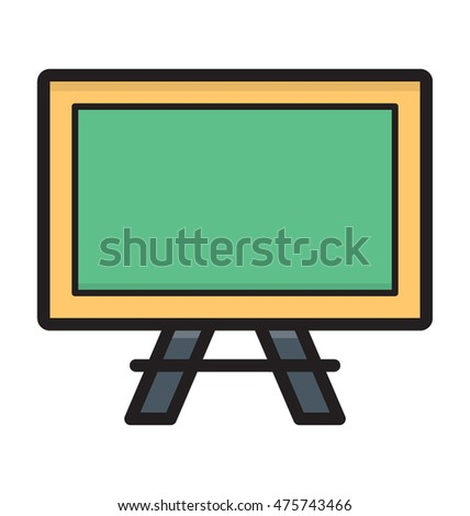 Whiteboard Vector Icon