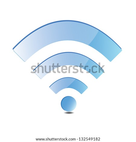Wi-fi icon - stock vector