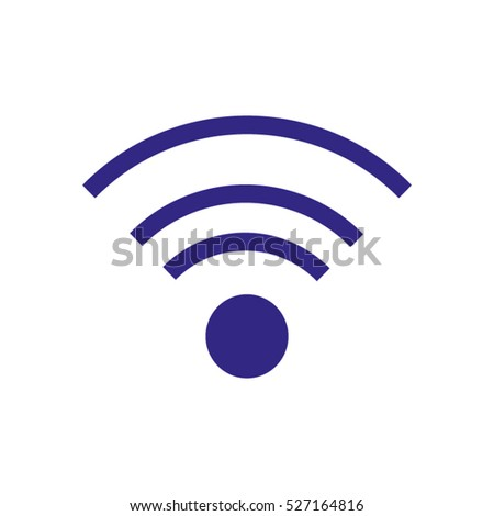 Wi fi, internet, vector icon, eps10