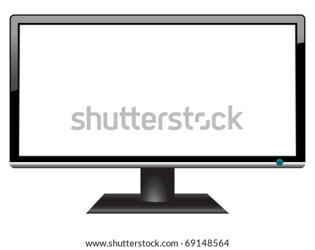 widescreen hdtv lcd monitor