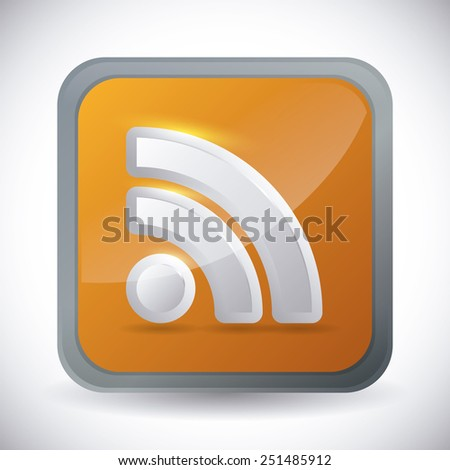 wifi connection design, vector illustration eps10 graphic  - stock vector