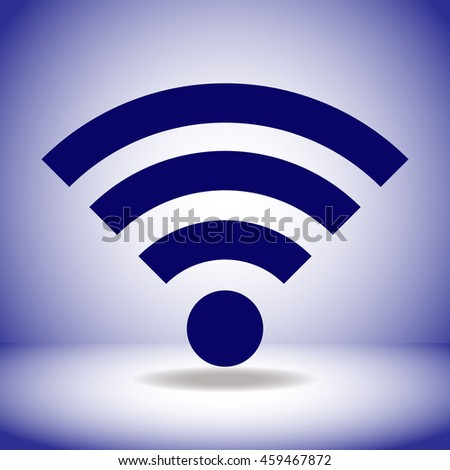 Wifi icon. Simple illustration.