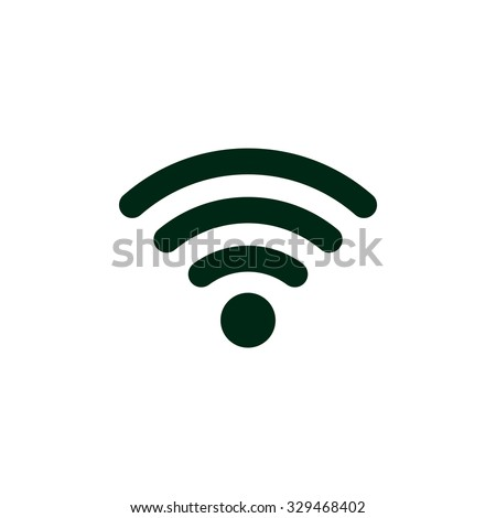 WIFI Icon, WIFI Icon Vector, WIFI Icon JPG, WIFI Icon JPEG, WIFI Icon EPS, WIFI Icon design - stock vector