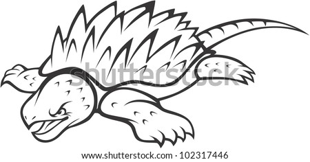 Snapping Turtle Stock Images Royalty Free Images Vectors