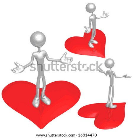 Will You Be Mine ? - stock vector
