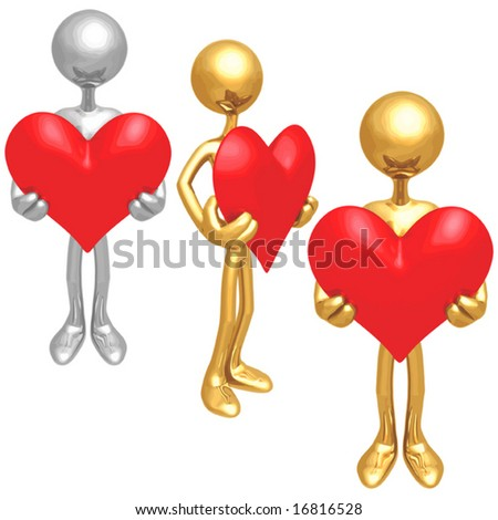 Will You Be Mine ? Heart Valentine - stock vector