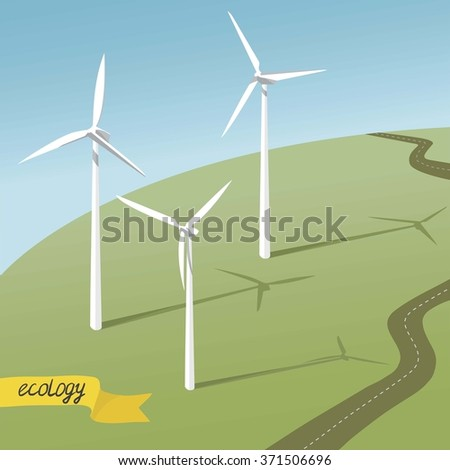 wind electricity generators and wild mill detailed road ecology