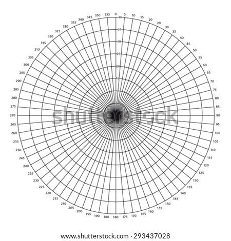 Wind Rose Diagram Stock Vector Royalty Free 293437028 Shutterstock