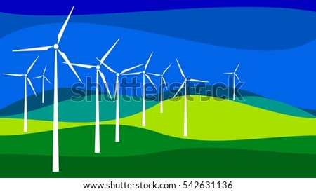 Wind Turbine, Wind Power, Renewable Energy