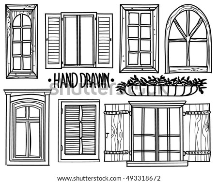 Antique Window Stock Images Royalty Free Images Vectors