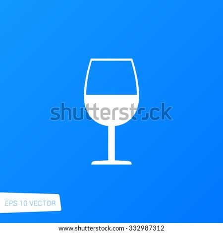 Wine Glass Icon / Wine Glass Icon Path / Wine Glass Icon File / Wine Glass Icon Art / Wine Glass Icon UI / Wine Glass Icon JPG / Wine Glass Icon JPEG / Wine Glass Icon EPS / Wine Glass Icon AI - stock vector