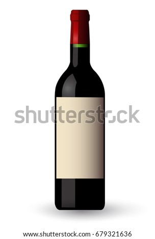 Wine grape label icon