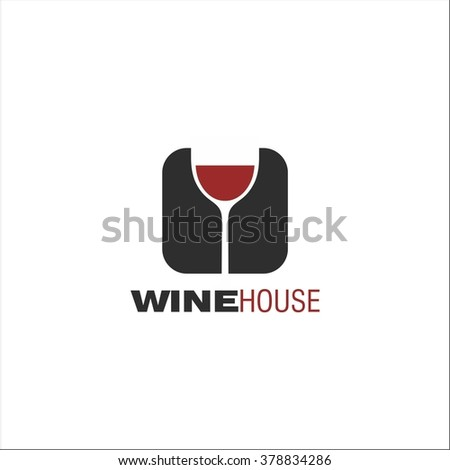 Wine house - stock vector