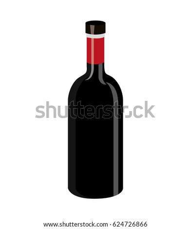 wine label design isolated
