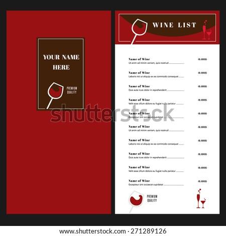 drinks list stock photos images pictures shutterstock. Black Bedroom Furniture Sets. Home Design Ideas
