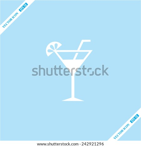 wineglass  icon - stock vector