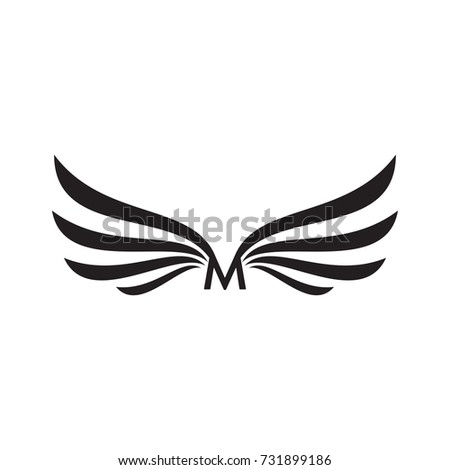 Wings Vector Set Stock Vector 135784631 - Shutterstock