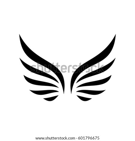 wing vector icon logo stock vector hd royalty free 601796675 rh shutterstock com vector windows sizes vector windows