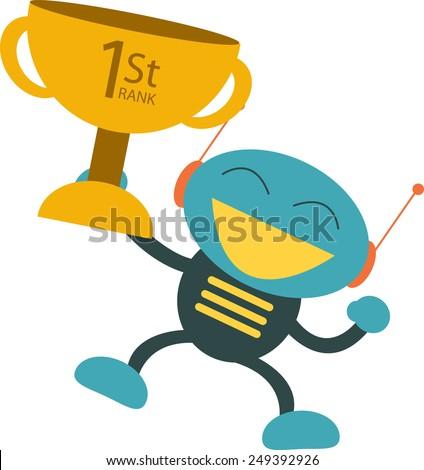 Winner - stock vector