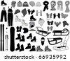 Winter Accessories - stock vector