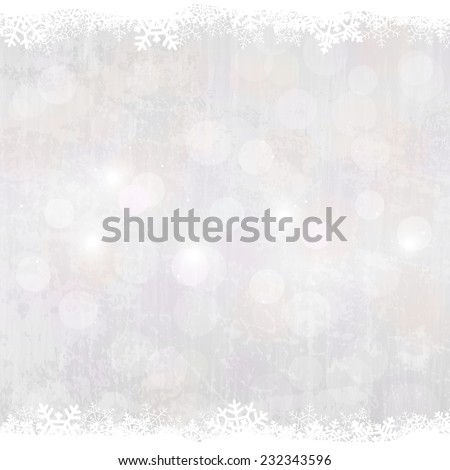 Winter background - stock vector