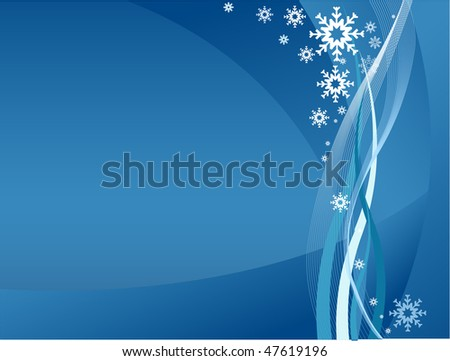 winter background clear - stock vector