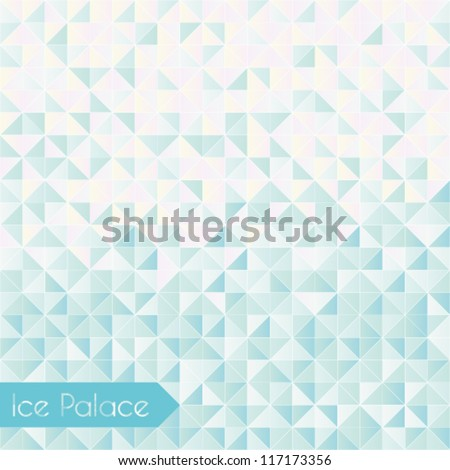 Winter Background/Ice Palace