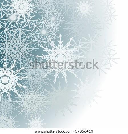 winter pattern - stock vector