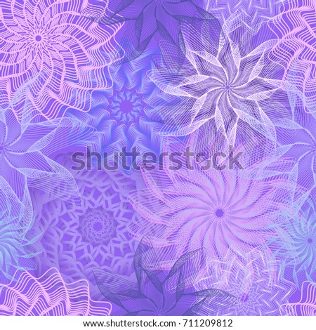Winter seamless background, vector illustration