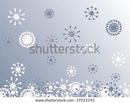 Wintertime - stock vector