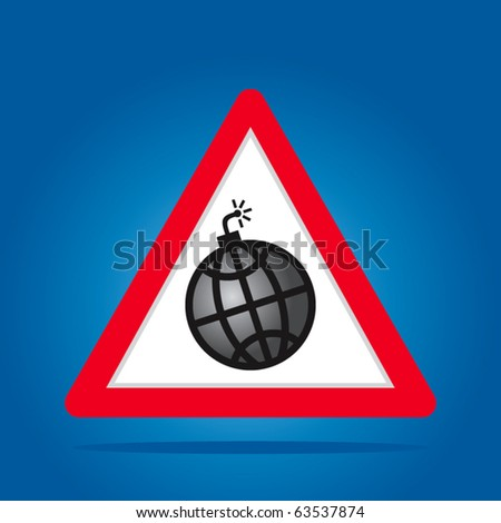 Wire world signs - stock vector