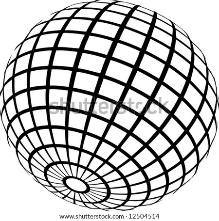 wireframe - stock vector
