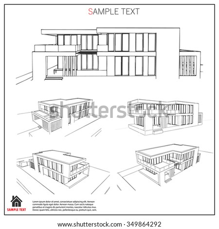 Architecture Drawing Template contemporary architecture drawing template set of free cad blocks