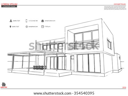 Wireframe blueprint drawing 3d building vector vectores en stock wireframe blueprint drawing of 3d building vector architectural template background architectural drawing architectural malvernweather Image collections