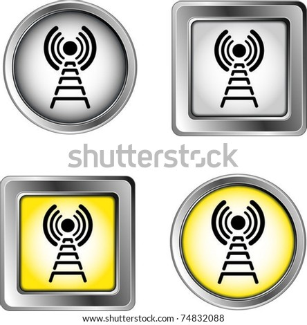 wireless - stock vector
