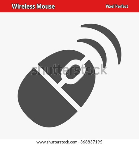 Wireless Mouse Icon Professional Pixel Perfect Stock Vector ...