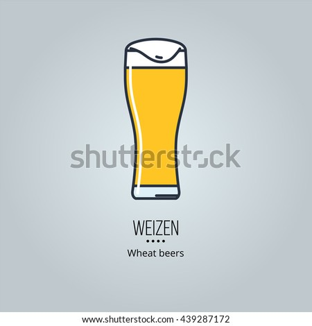 wizen beer glass icon