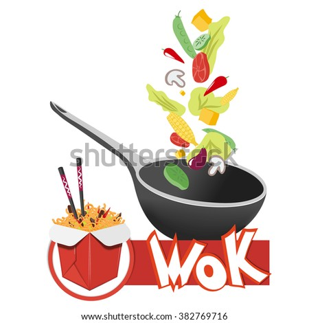 Wok Pan Stock Images Royalty Free Images Amp Vectors