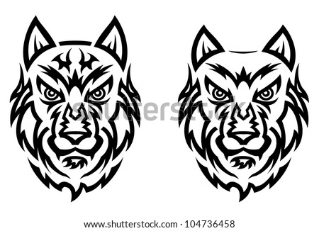 100 and white wolves tattoo in 50 wolf and raven for Tattoo removal columbia sc